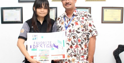 Juara Favorit Design Postcard Competition Despro ITS 2015